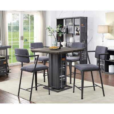 Kerim 5 - Piece Counter Height Dining Set - Wayfair