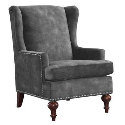 Glaude Wingback Chair - Wayfair