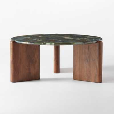 Santoro Green Agate Coffee Table - CB2
