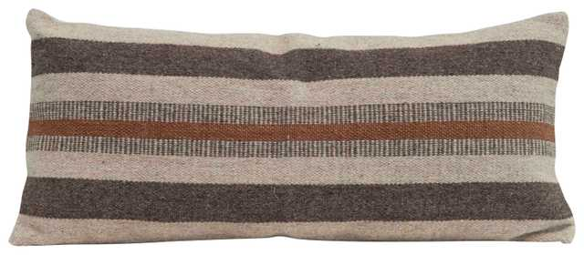 Jute & Cotton Lumbar Pillow - Nomad Home
