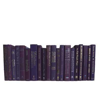 Booth & Williams 20 Piece Orchid Decorative Books Set - Perigold