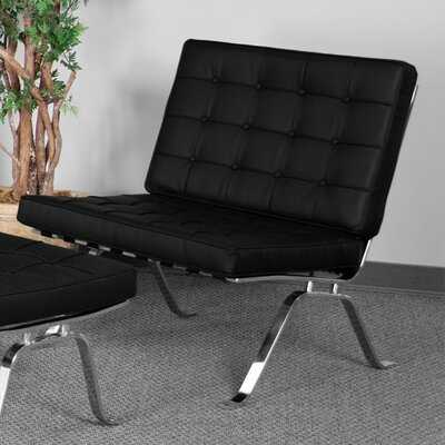 Hercules Series Leather Chaise Lounge - Wayfair