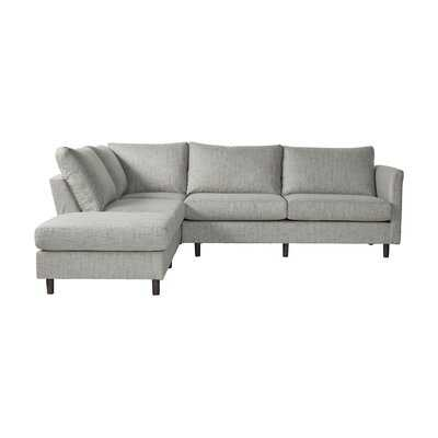 "Milhouse 107"" Left Hand Facing Sectional - Wayfair"