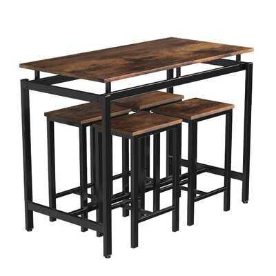 Arthenia 5 - Piece Counter Height Dining Set - Wayfair