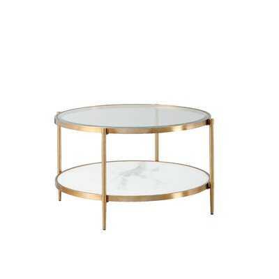 Lemley Coffee Table with Storage - Wayfair