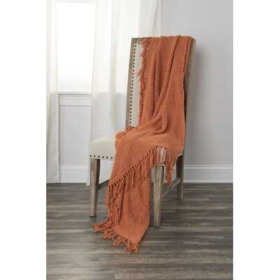 Jeffersonville Cotton Throw - Birch Lane