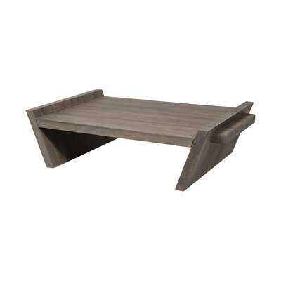 Strickler Solid Wood Sled Coffee Table - Wayfair