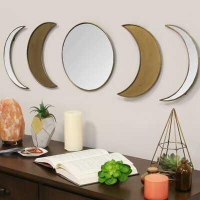 5 Piece Teme Glam Mirror Set - Wayfair