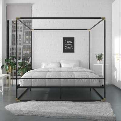 Celeste Metal Canopy Bed - Wayfair
