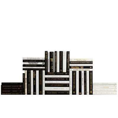 Booth & Williams Piano and Accent 50 Piece Authentic Decorative Book Set - Perigold