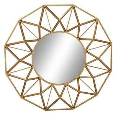 Sartain Modern Wall Mounted Mirror Set - Wayfair