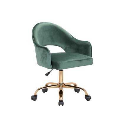 Neumann Velvet Task Chair - Wayfair