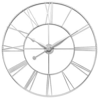 "Oversized 45"" Wall Clock - Wayfair"