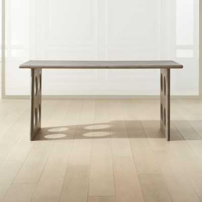 Otto Grey Concrete Desk - CB2