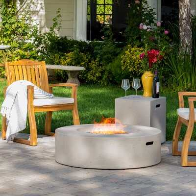 Olivet Propane Gas Fire Pit Table - AllModern