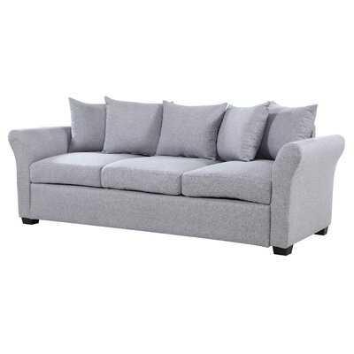 Santucci Linen Sofa - Wayfair