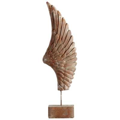 Feathers Of Flight Sculpture - Onyx Rowe