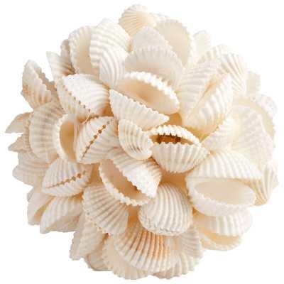 Cyan Design Coastal Shell Prize Decorative Ball Sculpture - Perigold