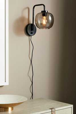 Franklin Sconce By Anthropologie in Black Size S - Anthropologie