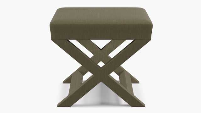 X bench | Olive Linen - The Inside