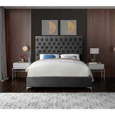 Dermott Upholstered Platform Bed - Wayfair