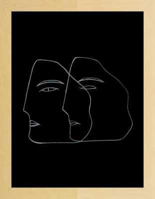 Penumbra by Nadiuska and Priscila Furtado - Uinverso  for Artfully Walls - Artfully Walls