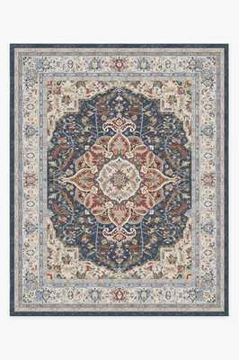 Washable Rug Cover & Pad | Malileh Heriz Opal Rug | Stain-Resistant | Ruggable | 8'x10' - Ruggable