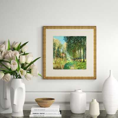 Providence Art 'Countryside Impressions 3' - Picture Framed Painting Print on Glass - Perigold