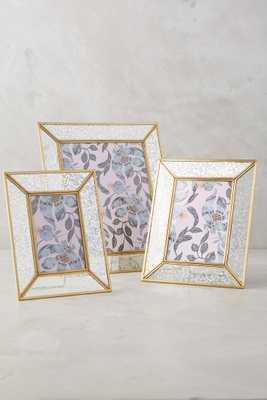 Mercury Glass Frame - Anthropologie