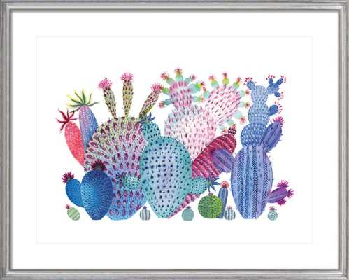 Cactus Painting 1 by Rachel Rogers for Artfully Walls - Artfully Walls