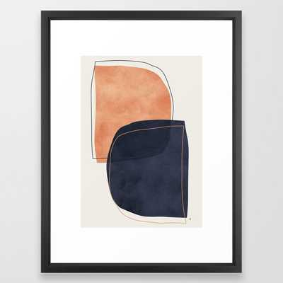 Nova Framed Art Print by Tracie Andrews - Vector Black - MEDIUM (Gallery)-20x26 - Society6