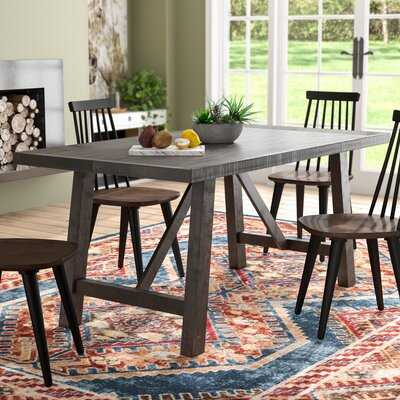 Gilberto Solid Wood Dining Table - Wayfair