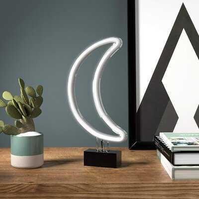 "Aleesha 11.75"" LED Novelty Neon Sign - Wayfair"