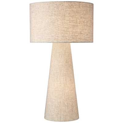 Lite Source Montebello Linen Fabric Night Light Table Lamp - Style # 87K55 - Lamps Plus