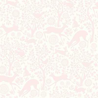 """Begley 33' x 20.5"""" Forest Fauna Wallpaper Roll - Birch Lane"""