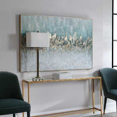 Floater Frame Painting Print on Canvas - Birch Lane