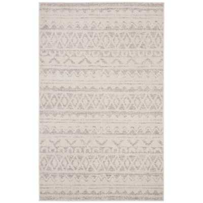 Safavieh Adirondack Ivory/Silver 6 ft. x 9 ft. Area Rug - Home Depot