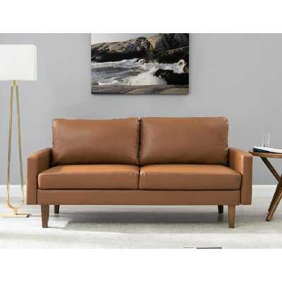 """Piccadilly 69.7"""" Square Arms Loveseat - Wayfair"""