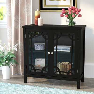 Walworth Display 2 Door Accent Cabinet - Wayfair