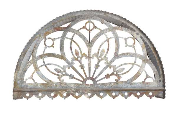 Large Decorative Metal Cutout Canopy Wall Décor - Nomad Home
