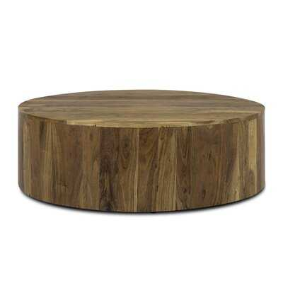 Givens Solid Wood Solid Coffee Table RESTOCK IN MAY 9,2021. - Wayfair