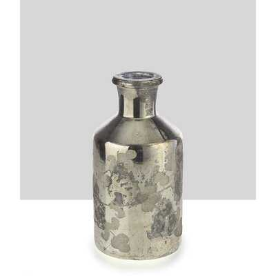 2 Piece Guilherme Gray Metal Table Vase Set - Wayfair
