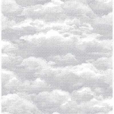 """Benninger Cloud 33' x 20.5"""" Wallpaper - AllModern"""