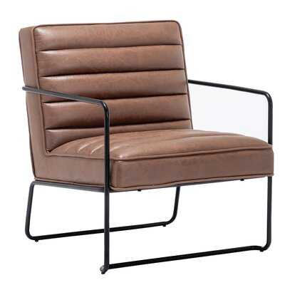 Pedrick Horizontal Channel Armchair - Wayfair