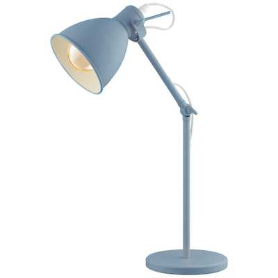 Eglo Priddy-P Pastel Light Blue Adjustable Desk Lamp - Style # 85Y37 - Lamps Plus