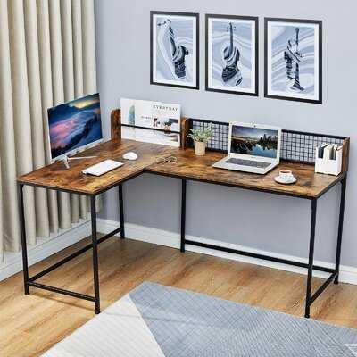 Vela L-Shape Desk - Wayfair