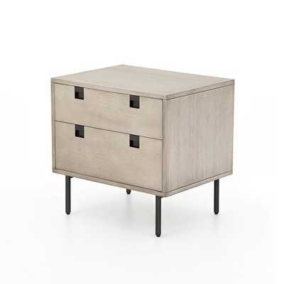 Squared Handle Nightstand - West Elm