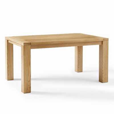 "Tahoe 60"" Table, Natural Oak - West Elm"