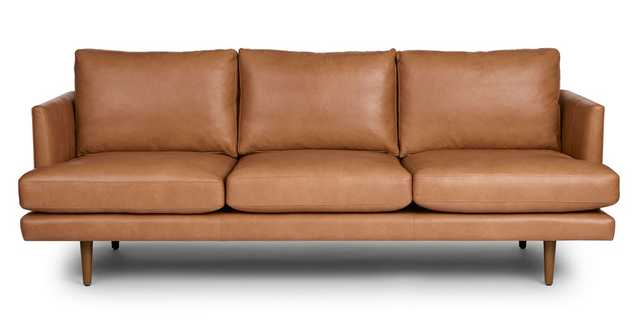Burrard Bella Caramel Sofa - Article