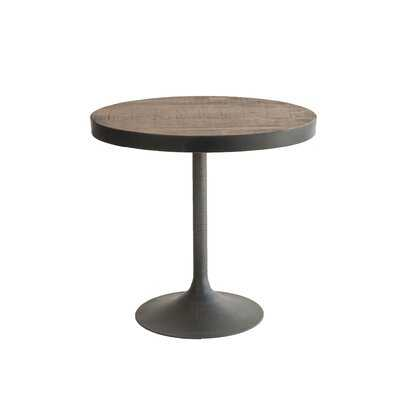 Veasey Pedestal End Table - Wayfair